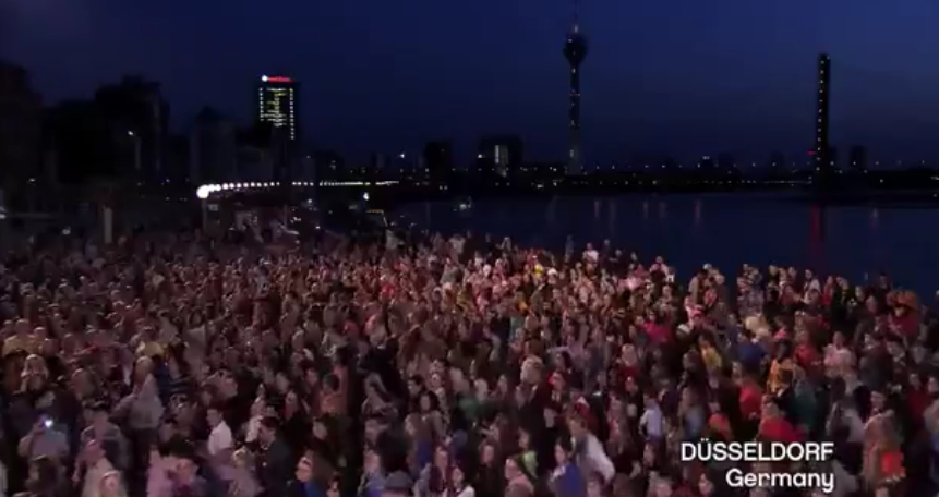 Flashmob Eurovision 2010