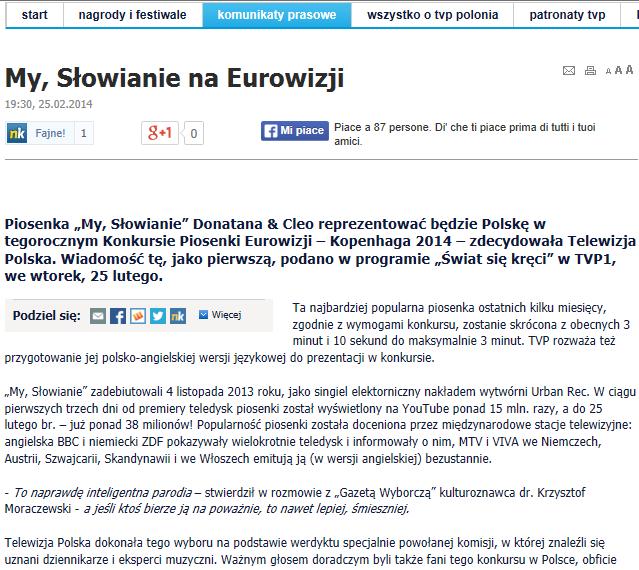 Articolo polacco