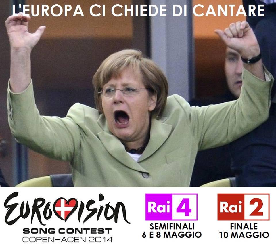 L'europa ci chiede di cantare