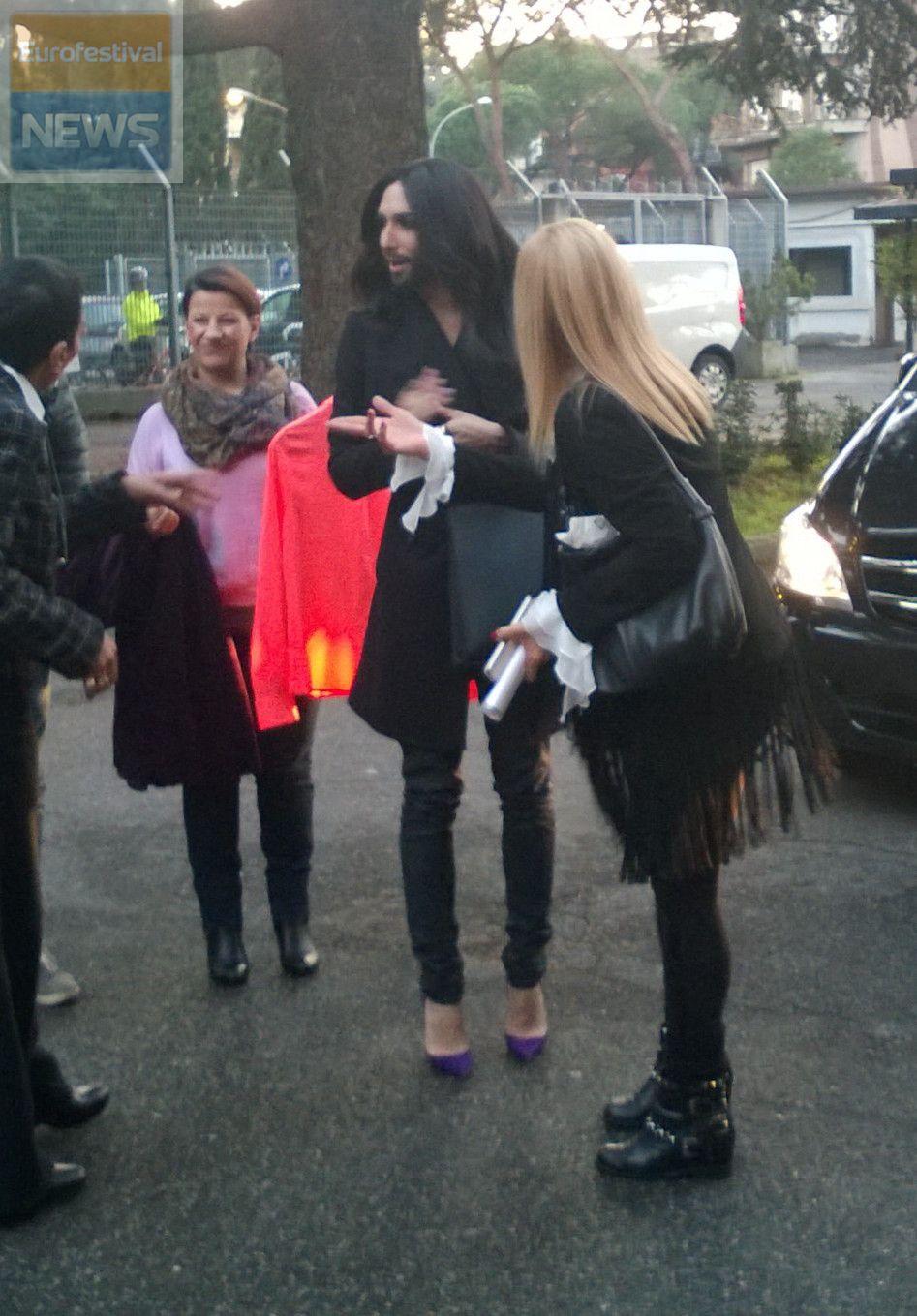 Arrivo Conchita Wurst