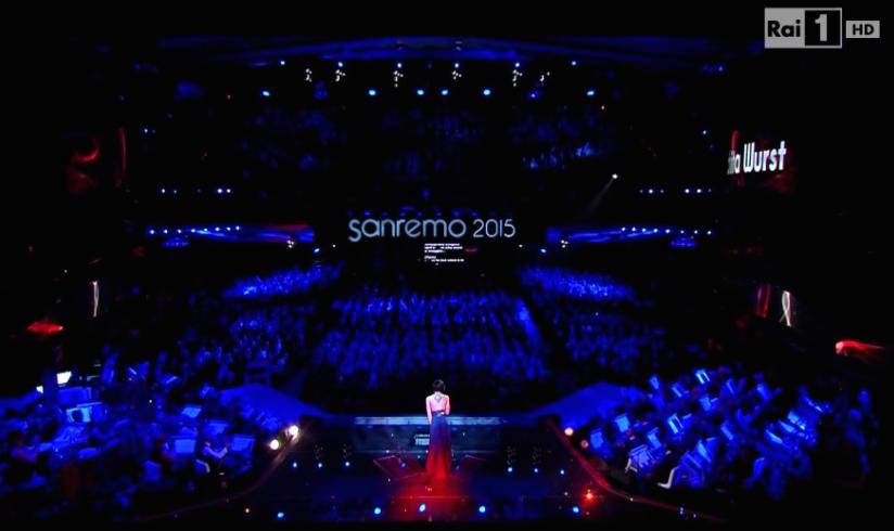 Conchita Sanremo 2015