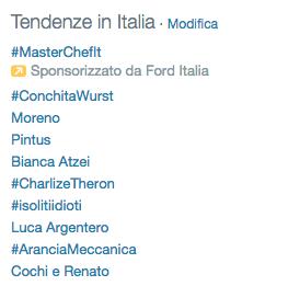 Conchita Wurst hashtag