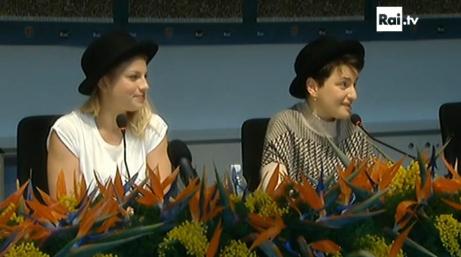 Emma ed Arisa Sanremo 2015