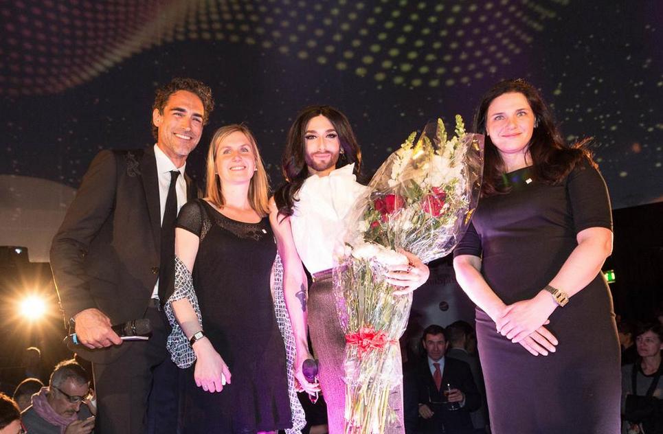 Conchita Wurst a Milano