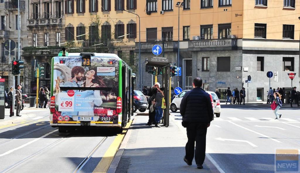 Eurovision 2015 Bus 73 Milano