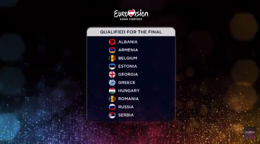 Prima semifinale 2015