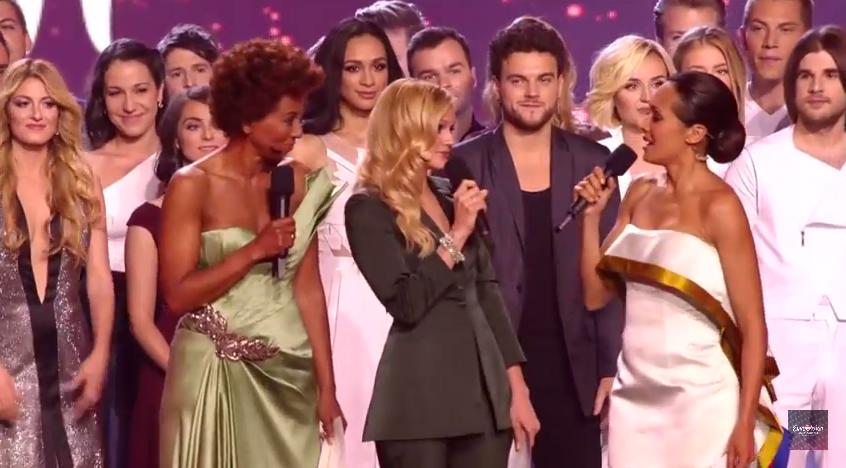 Conduttrici Eurovision 2015