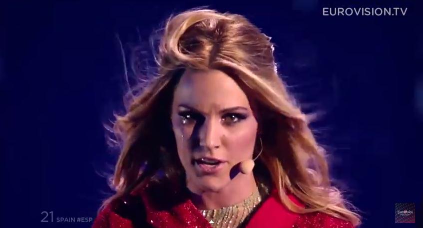 Edurne Finale Eurovision 2015