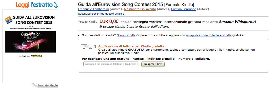 Guida Eurovision 2015 Amazon