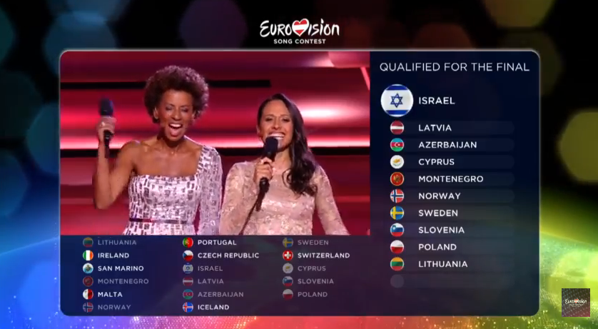 Qualificati 2SF Eurovision 2015