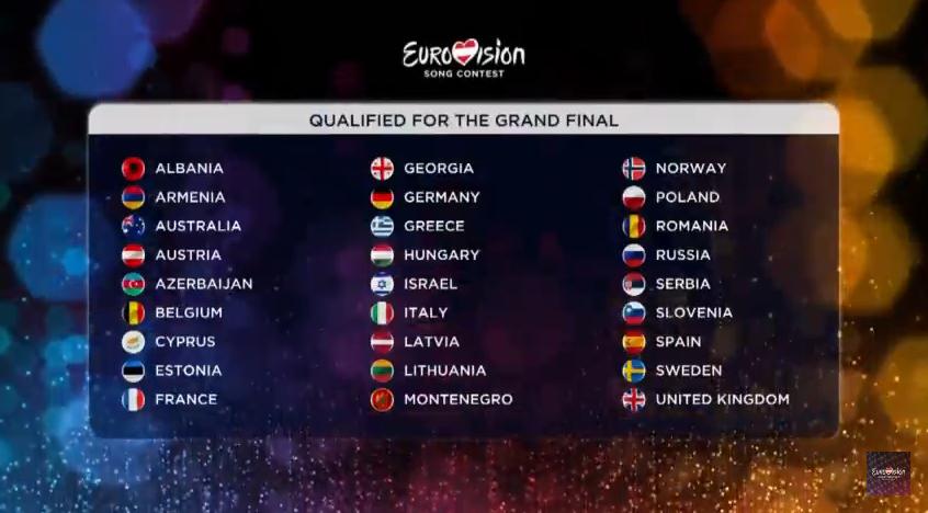 Qualificati finale Eurovision 2015