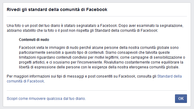 Censura Facebook