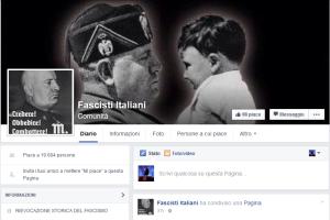 Fascisti italiani Facebook