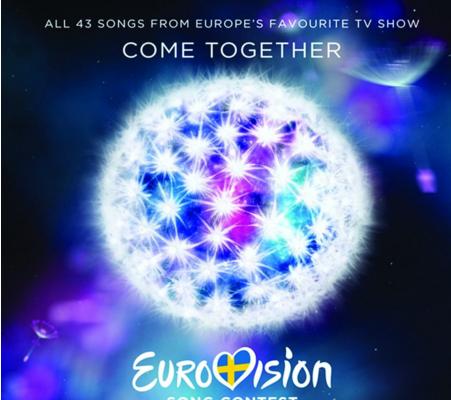 Copertina CD eurovision 2016
