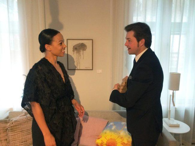 Alice Bah Kuhnke and Yevhen Nyshchuk