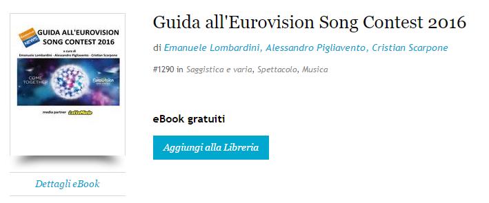 Guida Eurovision 2016 KoboStore
