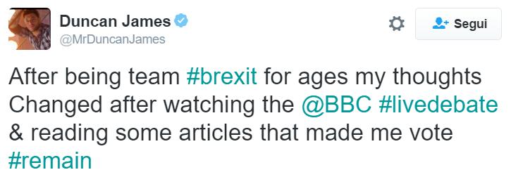 tweet duncan james brexit