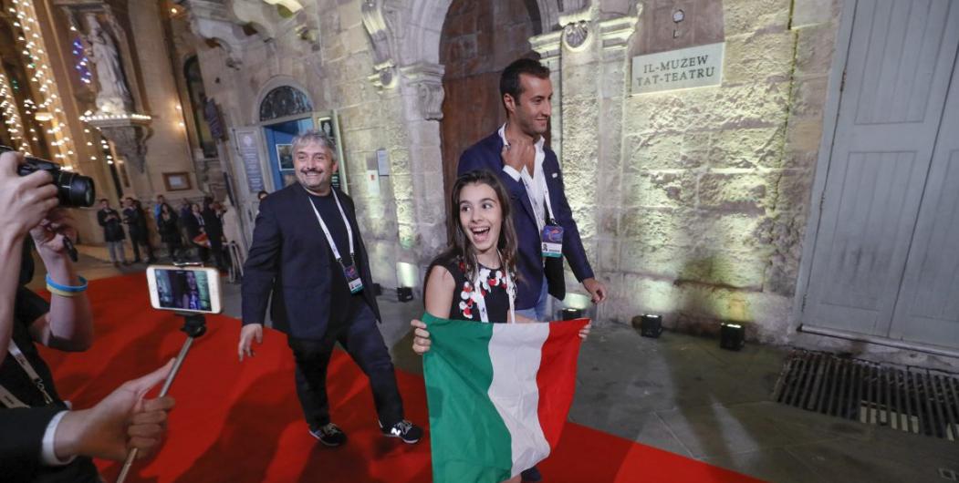 Junior Eurovision 2016, Fiamma Boccia canterà nella seconda metà dello show