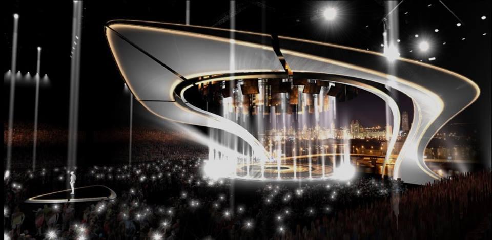 Palco Eurovision 2017