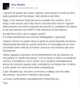 Tony Maiello Facebook