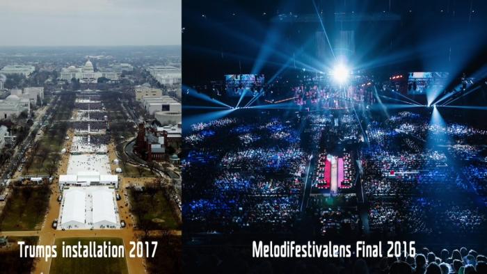Melodifestivalen 2016 vs Trump