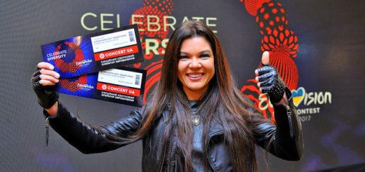 ruslana biglietti eurovision 2017