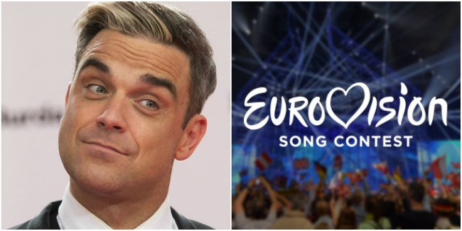 robbie williams eurovision