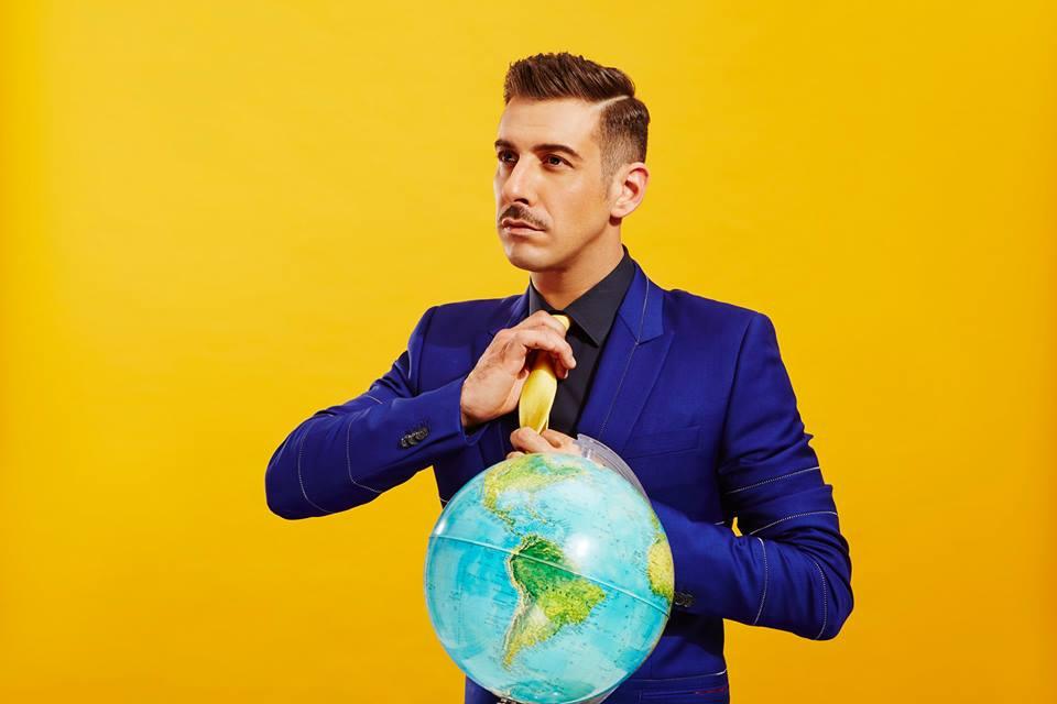 Francesco Gabbani: nono in ordine d'uscita alla Finale di Eurovision Song Contest!