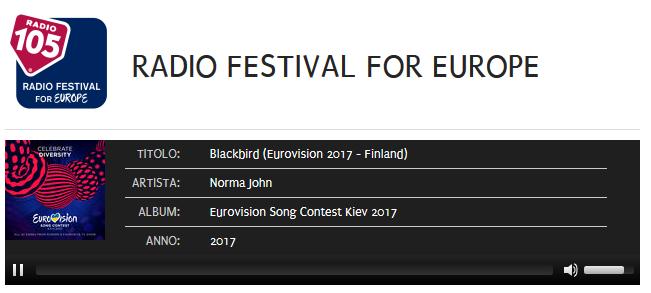 Radio Festival for Europe