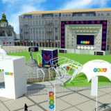 kiev santa sofia fan zone