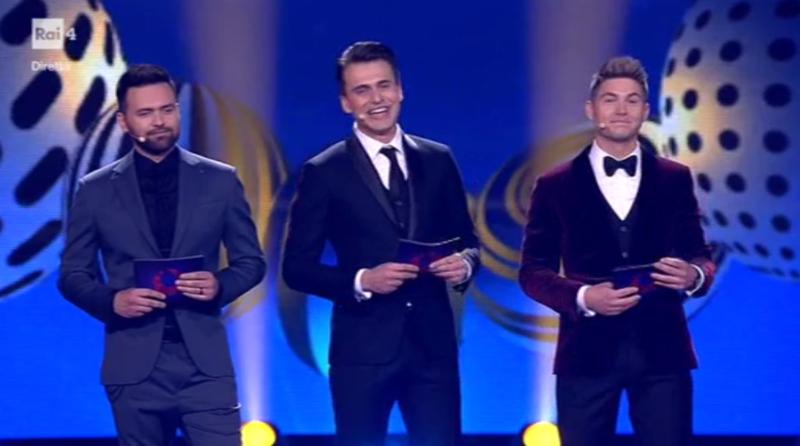 Conduttori Eurovision 2017