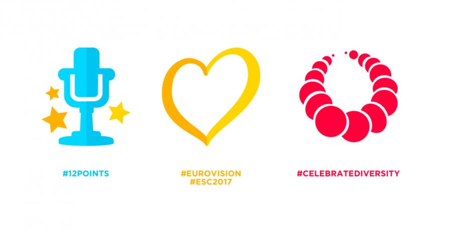 hashtag ufficiali Eurovision 2017