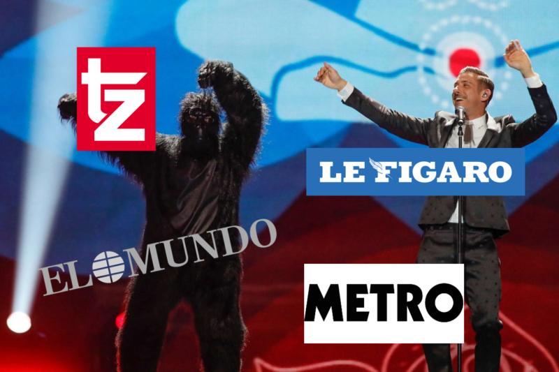 Eurovision 2017 stampa internazionale