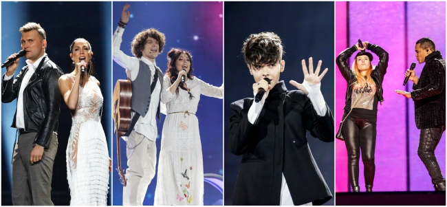 prove quarto giorno eurovision kostov navi koit laura monetta wilson