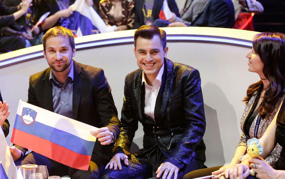 omar naber eurovision 2017 green room