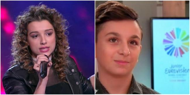 mina blazev Grigol Kipshidze junior eurovision
