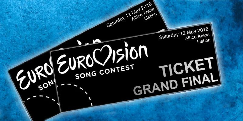 eurovision 2018 biglietti tickets