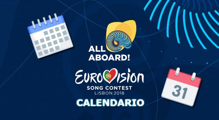 eurovision 2018 calendario