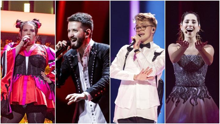 eurovision 2018 prove giorno 1 israele albania repubblica ceca estonia
