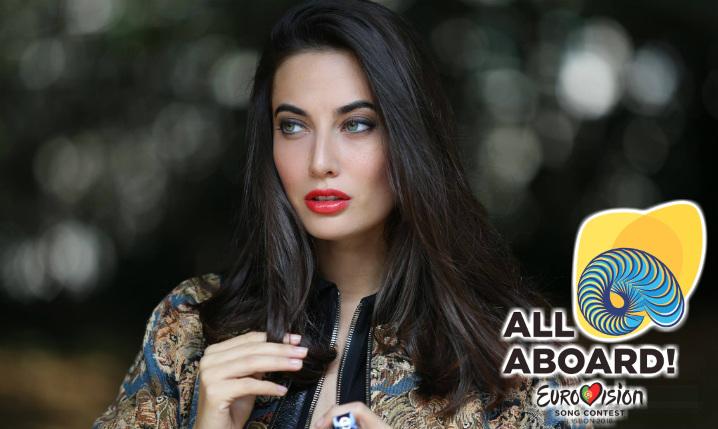giulia valentina eurovision 2018 italia logo