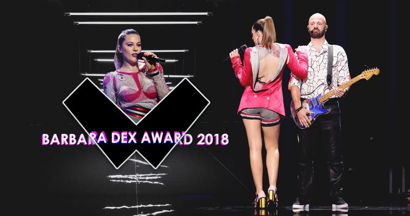 barbara dex award eye cue 2018