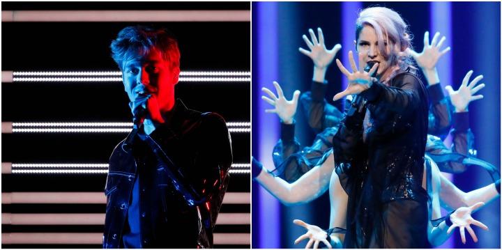 eurovision 2018 prove benjamin ingrosso lea sirk