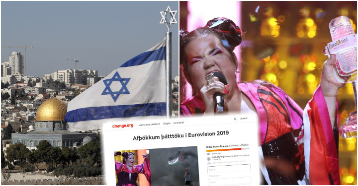 petizione islanda eurovision 2019 israele