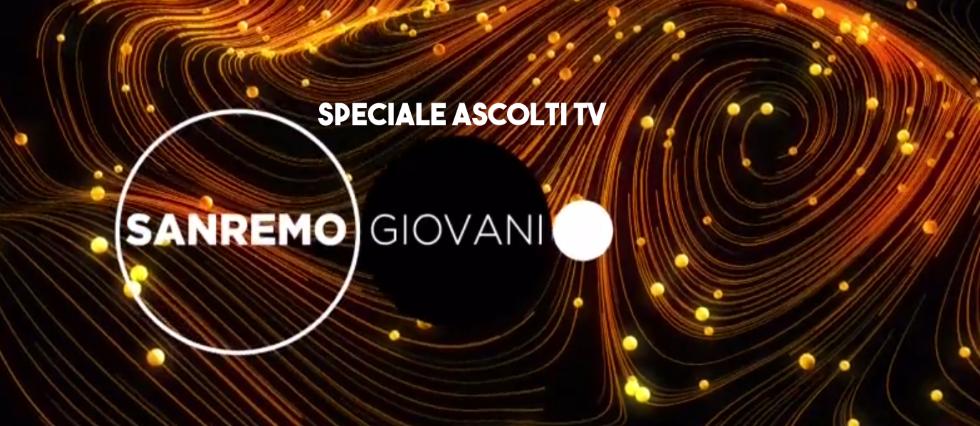 Ascolti tv Sanremo Giovani 2018
