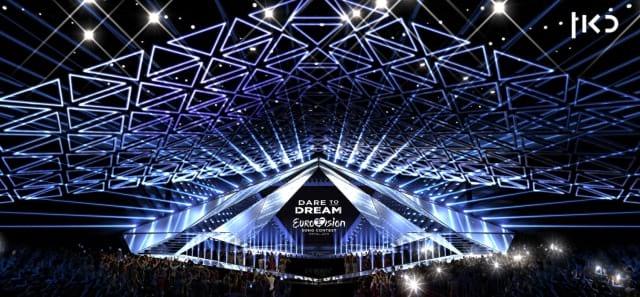 Scenografia Eurovision 2019 - Foto palco 01