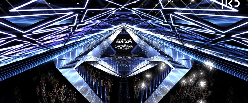 Scenografia Eurovision 2019 - Foto palco 02