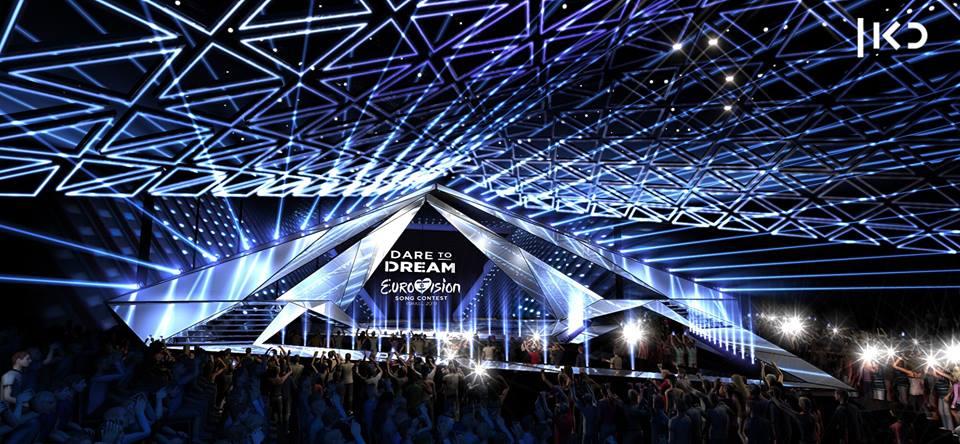 Scenografia Eurovision 2019 - Foto palco 04