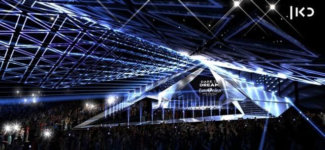 Scenografia Eurovision 2019 - Foto palco 05