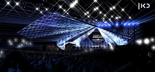 Scenografia Eurovision 2019 - Foto palco 06