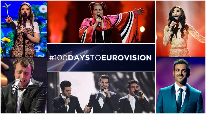 100 days to eurovision